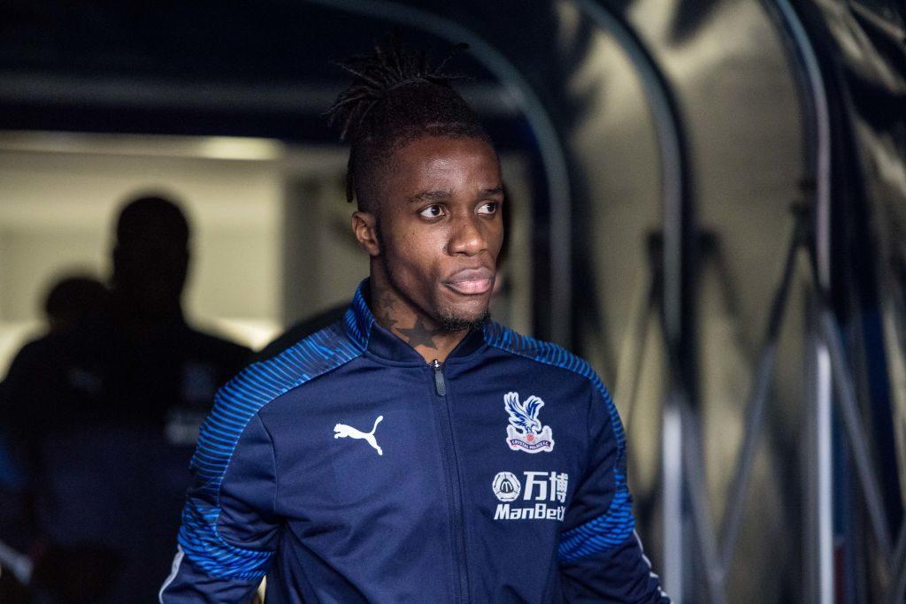 Wilfried Zaha tipped for January move as Chelsea circle Palace star
