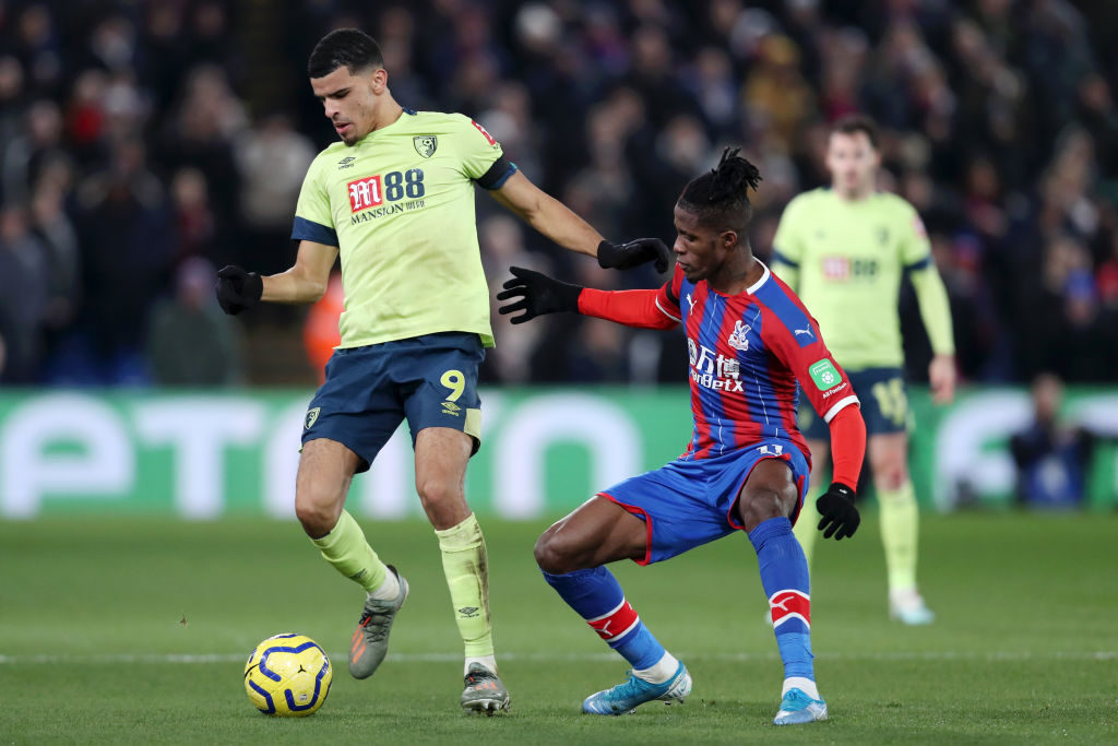 Wilfried Zaha's agent speaks out amid Chelsea transfer links