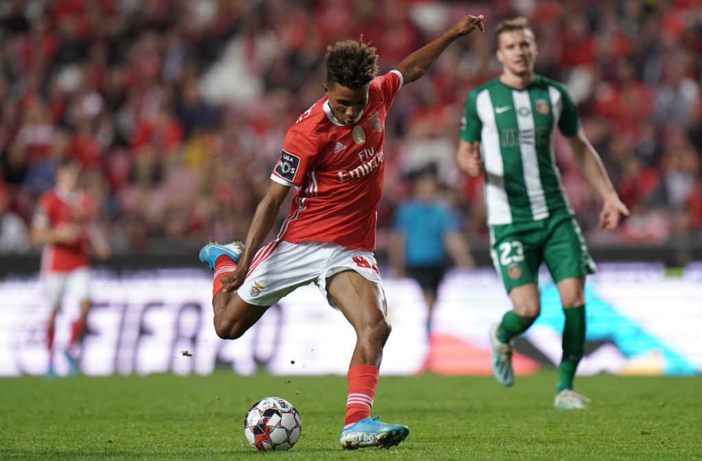 Gedson Fernandes is set to undergo Tottenham medical