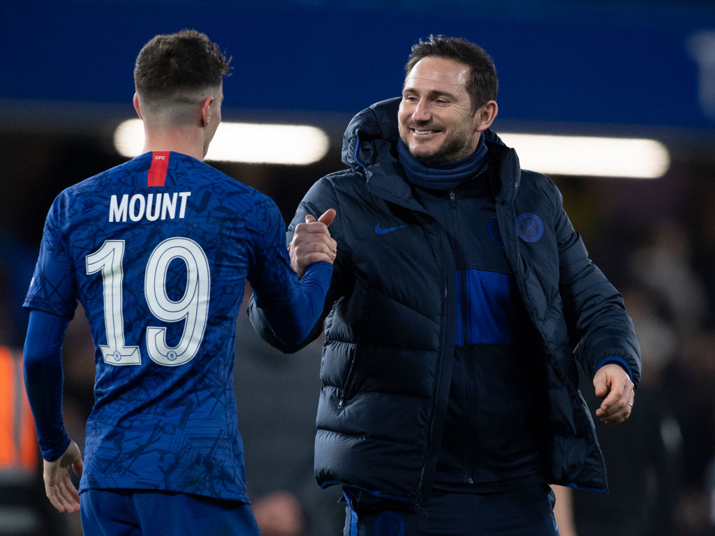 Image result for Mason Mount Frank Lampard