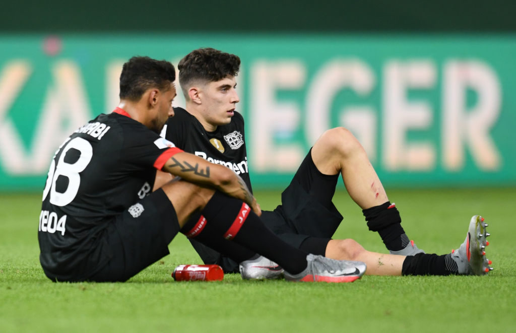 Antonio Rudiger trying to convince Kai Havertz to join Chelsea