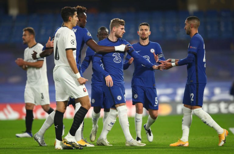 Chelsea FC v Stade Rennais: Group E - UEFA Champions League