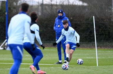 Chelsea Training Session