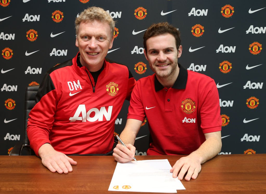Juan Mata Signs For Manchester United FC