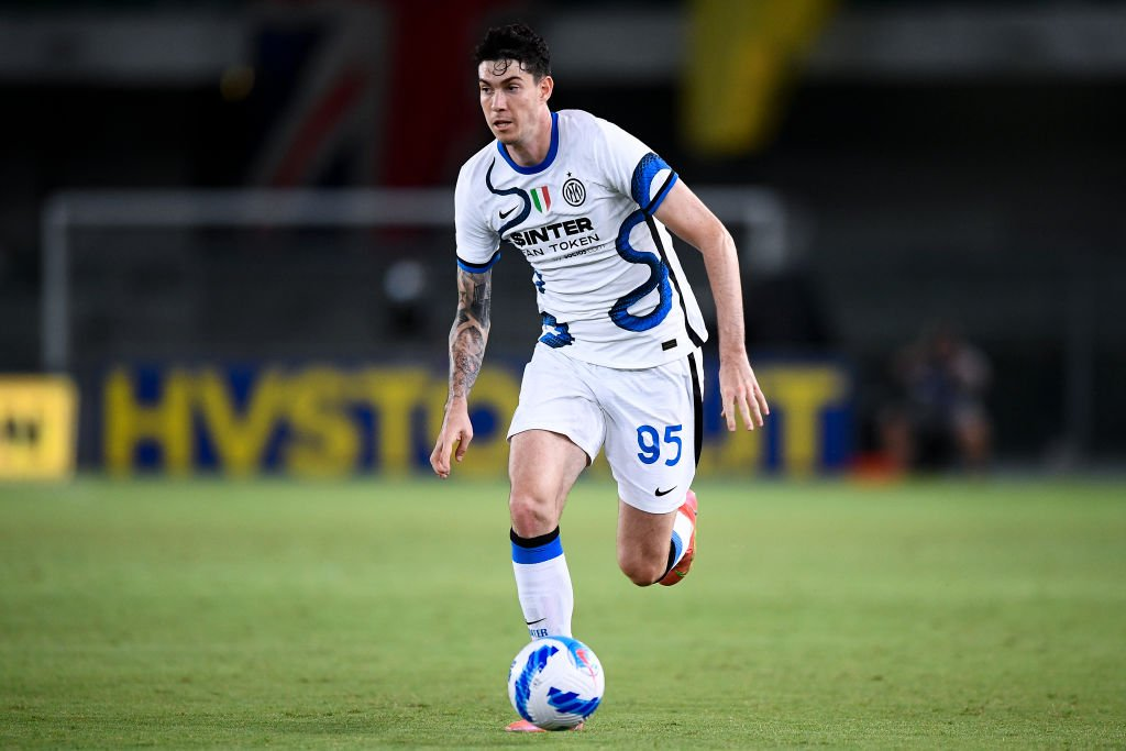 Alessandro Bastoni of FC Internazionale in action during the