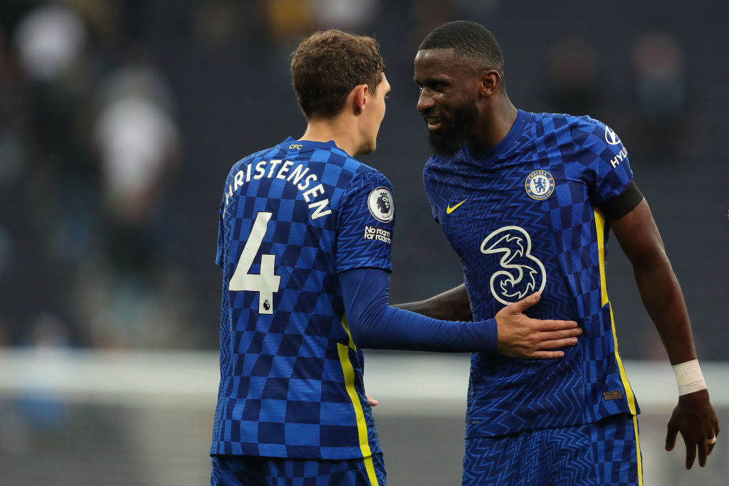 Chelsea are still in negotiations over new contracts with Andreas Christensen and Antonio Rudiger