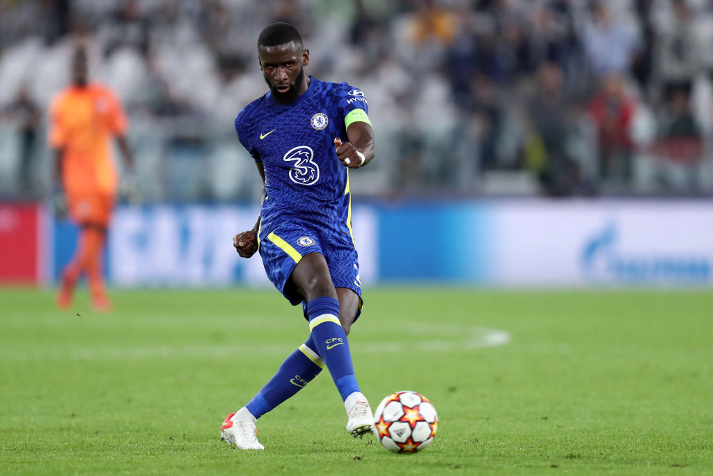 Antonio Rudiger of Chelsea Fc  in action during the  Uefa
